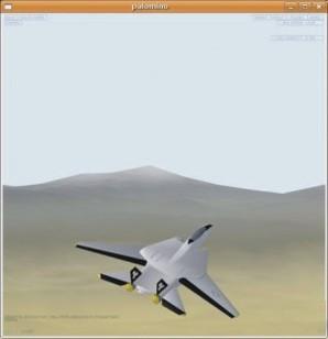 Palomino, voo em 3D