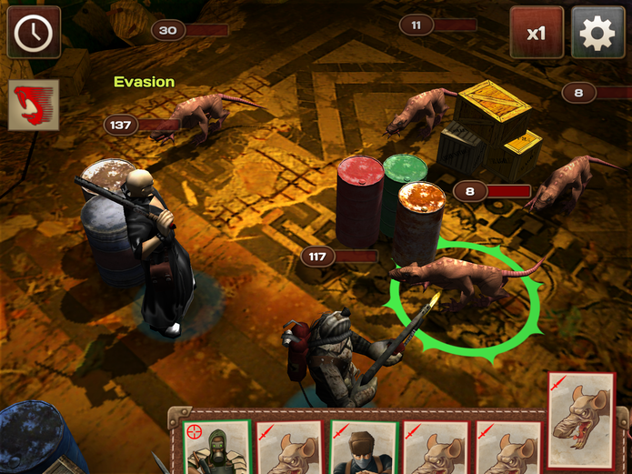 Com mais de 20 mercenários para contratar, o jogador terá que enfrentar também diferentes criaturas mutantes(Foto: Reprodução/Daniel Ribeiro)