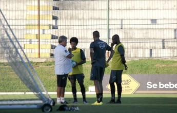 Geninho confirma Cleiton Potiguar e Marrone como titulares no ABC