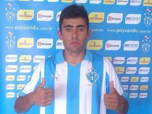 Leandro Canhoto é mais uma contratação do Paysandu (Foto: Ronaldo Santos/Ascom Paysandu)