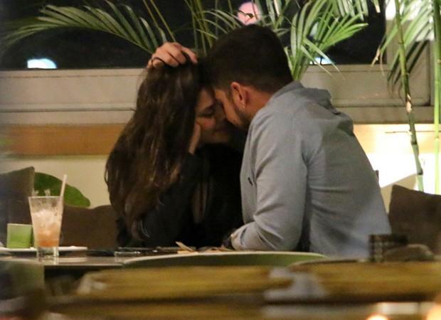 Jéssika Alves e o namorado, Ibraim Lopes (Foto: AgNews)