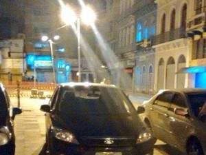 Oito são presos com dois carros roubados no Centro de Porto Alegre (Foto: Divulgação/Brigada Militar)