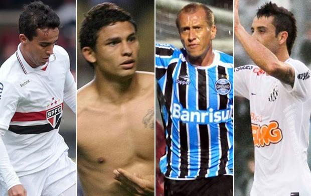 Montagem gol mais bonito oitava rodada É Gol!!! (Foto: Montagem SporTV)