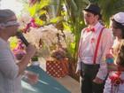 Noivos fazem 'Casamento Mágico' temático em Campina Grande