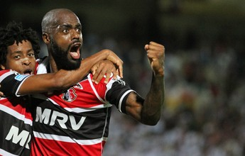 Grafite marca contra o Corinthians e é o melhor atleta da região da TV TEM