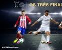 Uefa sorteia grupos e elege o melhor entre Cristiano, Bale e Griezmann