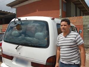 Joel Fernandes diz que desconhecia as irregularidades encontradas durante a vistoria (Foto: Jorge Machado/G1)