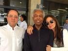 Gilberto Gil agradece o carinho dos fãs após alta hospitalar