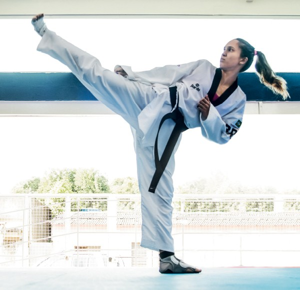 Iris Tang Sing, lutadora (Foto: Daryan Dornelles)