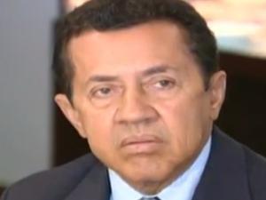 Ex-presidente da Valec, Juquinha Neves, é preso suspeito de desviar verba, em Goiás (Foto: Reprodução TV Anhanguera)