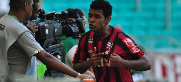 Ederson Atlético-PR x Bahia (Foto: Bruno Baggio/Site oficial do Atlético-PR)
