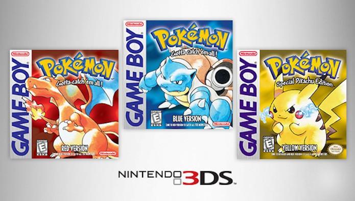 Pokémon Red, Blue e Yellow: como baixar no 3DS (Foto: Divulgação/Nintendo)