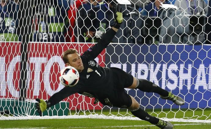 Alemanha x Itália Eurocopa Neuer (Foto: Reuters)