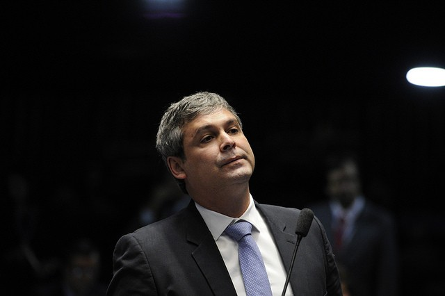 O senador Lindbergh Farias (PT-RJ) (Foto: Edilson Rodrigues/Agência Senado)