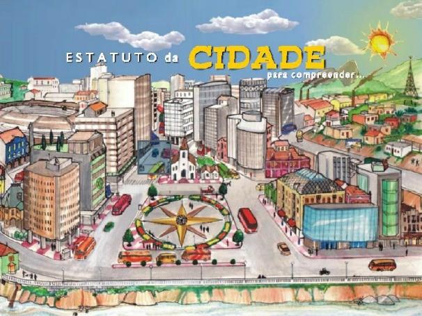 Cartilha do Estatuto das Cidades (Foto: Divulgação/IBAM)