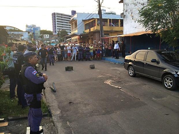 Segundo a Polícia, as investigações para descobrir a autoria do crime já foram iniciadas (Foto: Diego Toledano/ G1 Amazonas)