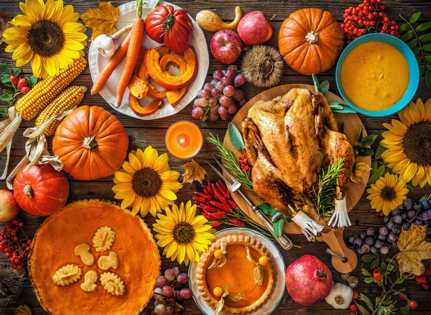 Os pratos tradicionais do Dia de Ação de Graças (Foto: Thinkstock)