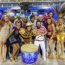 Especial mostrou bastidores do desfile na Sapucaí (Artur Meninea / Gshow)