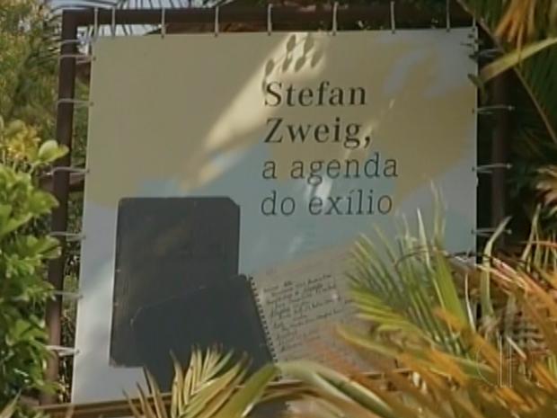 Casa onde autor morreu virou museu em Petrópolis, no RJ (Foto: Reprodução / Inter TV)