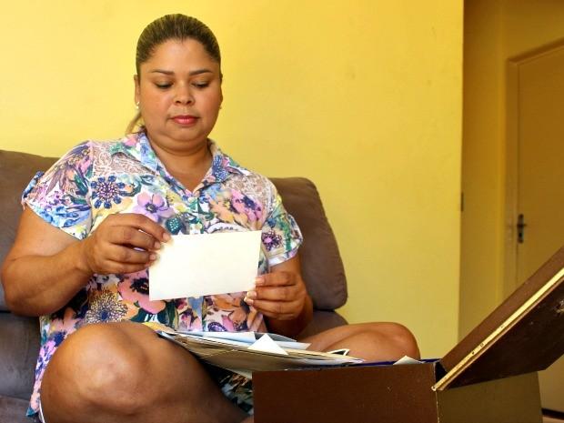 Mulher quer ter duas mães em MS (Foto: Tatiane Queiroz/ G1 MS)