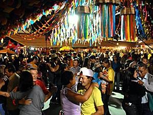 Forró festa junina (Foto: Malhação / TV Globo)