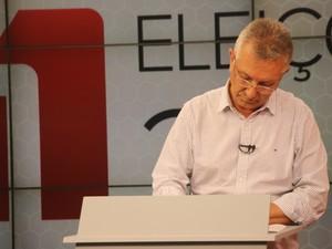 No primeiro turno, Busato foi o segundo candidato mais votado, obtendo 37,30% dos votos (Foto: Joyce Heurich/G1)
