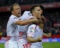 Final da Liga Europa coloca em campo hegemonias de Liverpool e Sevilla