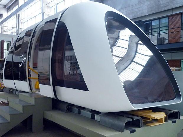 Universidade brasileira desenvolve trem que flutua