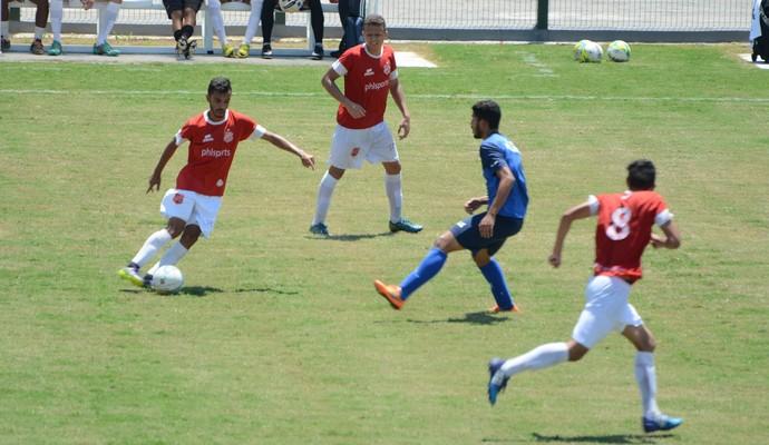 União Mogi x Grêmio Osasco amistoso (Foto: Cairo Oliveira)