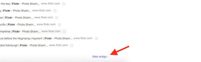 Buscando registros antigos de um site no histórico de navegação do Google Chrome (Foto: Reprodução/Marvin Costa)