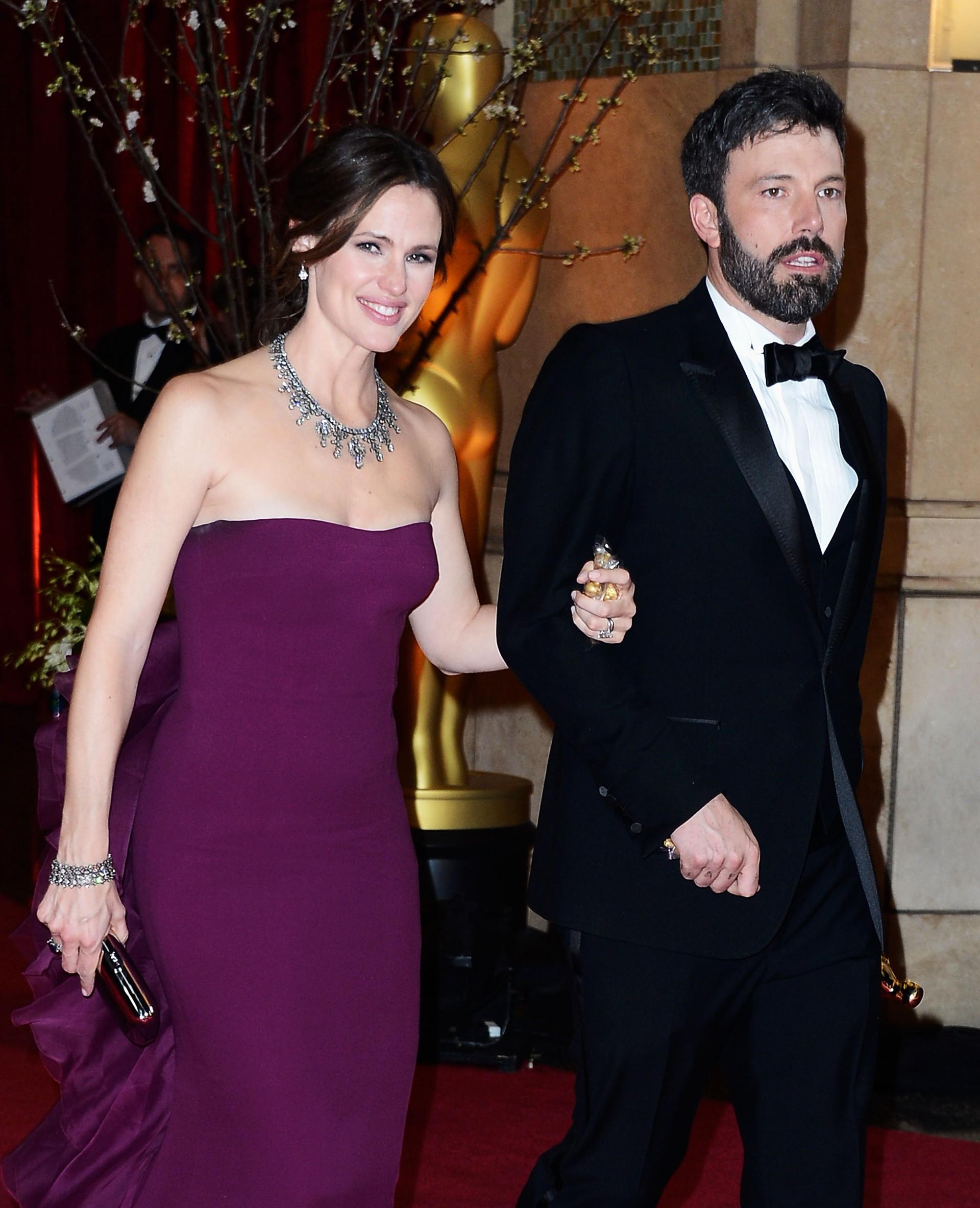 O diretor e astro de 'Argo' casou-se com Garner em Junho de 2005. Os dois têm três filhos. (Foto: Getty Images)