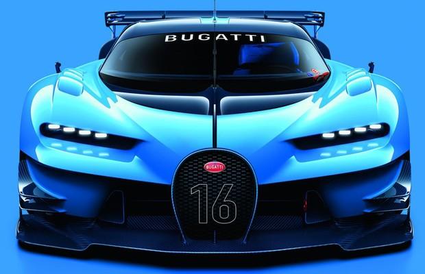 Dianteira do Bugatti Vision Gran Turismo concept (Foto: Divulgação)