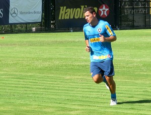 anderson aquino  botafogo treino (Foto: Thales Soares / Globoesporte.com)