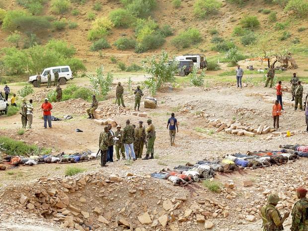 Ataque no Quênia deixa mais de 30 mortos (Foto: AFP)