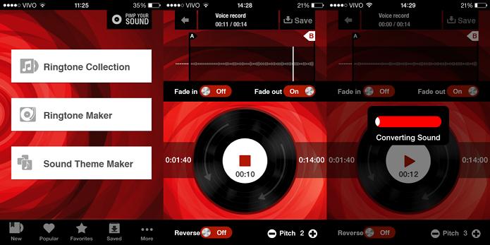 Personalize os sons de seu gadget com a ajuda do Tons de Chamada (Foto: Divulgação/AppStore)