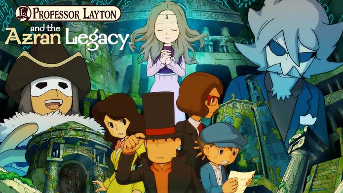 Professor Layton and the Azran Legacy. (Foto: Divulgação)