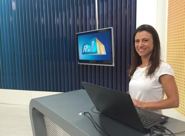 Fernanda Soares comanda quadro de interatividade (Foto: Vitor Santos/ Programação)