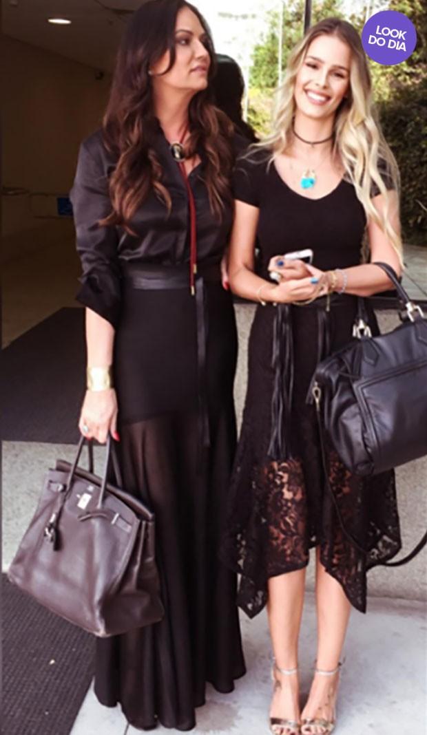 Luiza e Yasmin Brunet  (Foto: Instagram / Reprodução)