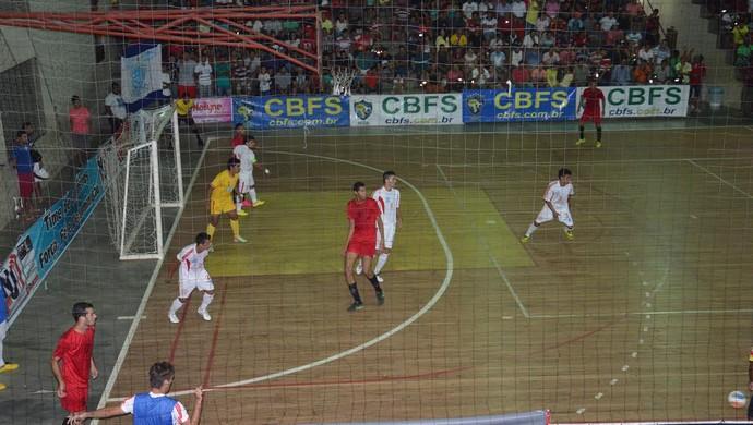 big bran x montenegro acreano futsal da 2ª divisão jader machado (Foto: Adelcimar Carvalho/G1)