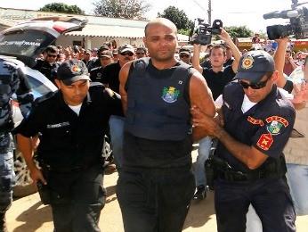 Evanderly Lima deve ser levado para presídio em Rondonópolis (Foto: Assessoria/ Polícia Civil - MT)