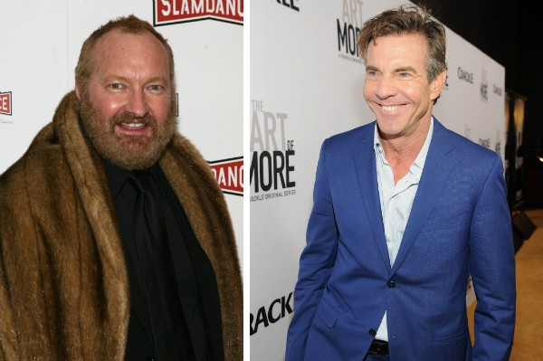 Os irmãos Randy e Dennis Quaid (Foto: Getty Images)
