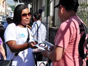 Barra Mansa promoveu Semana de Mobilização Social Contra a Dengue em janeiro de 2014 (Foto: Gabriel Borges/Prefeitura Barra Mansa)