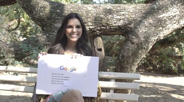 Mariana Rios responde perguntas da web 2 (Foto: Reprodução/ Vídeo)