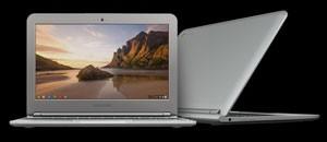 Detalhe do novo Chromebook, do Google (Foto: Divulgação)