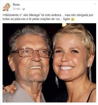 Pai da Xuxa (Foto: Facebook / Reprodução)