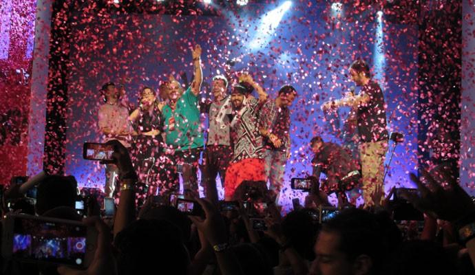 Youtubers na YouTube FanFest Brasil, nesta quinta-feira (5), em São Paulo