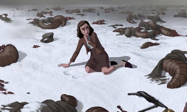 Cena da animação baseada em 'O diário de Anne Frank' (Foto: Divulgação)
