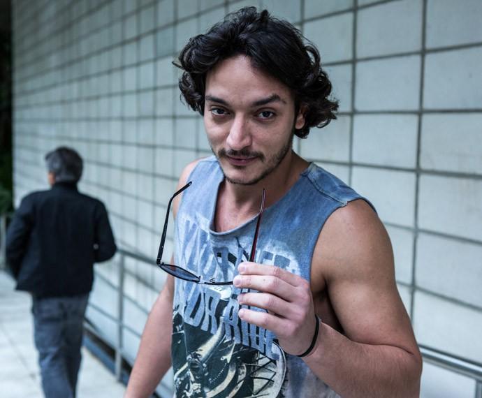 Allan Souza Lima terá Fernanda Souza como companheira de cena em 'A Regra do Jogo' (Foto: Ellen Soares / Gshow)