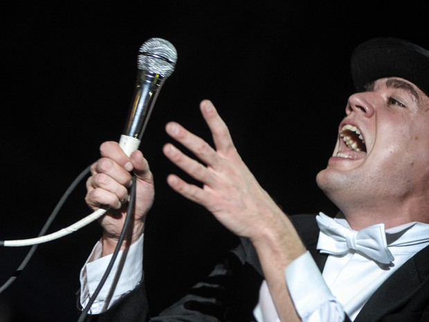 The Hives se apresenta no Lollapalooza (Foto: Flavio Moraes/G1)