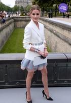 Look do dia: Olivia Palermo brilha em desfile na Semana de Moda em Paris